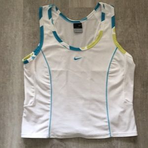 Nike Dri-Fit Exercise Tank Top with Vented Back